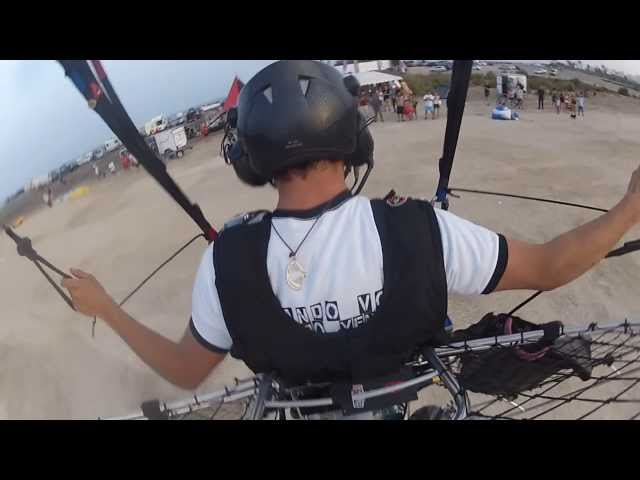 PXP Paramotor - 202 Infinity Tumbling World Record