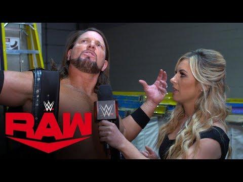 AJ Styles Mocks Randy Orton's In-ring Arsenal: Raw Exclusive, Jan. 6, 2020