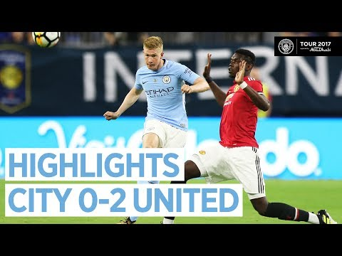 Man City vs Man United 0-2 All Goals & Extended Highlights | Friendly 21/07/2017 HD