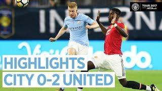 vuclip Man City vs Man United 0-2 All Goals & Extended Highlights | Friendly 21/07/2017 HD
