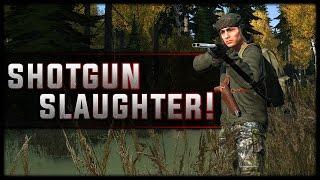 Shotgun Slaughter! - DayZ Standalone .61
