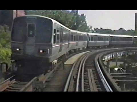 CTA Ride - North-South Main - Wellington to 61st street - Sept 23 1991