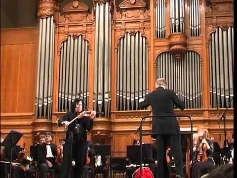 Sibelius Violin Concerto Maxim Fedotov violin /Sergey Roldugin-conductor
