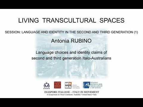 Language choices and identity claims of second and third generation Italo Australians