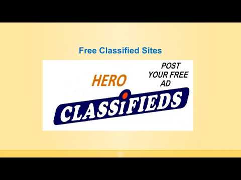Post Free Ads in India | Post Free Classified Ads | Hero Classifieds