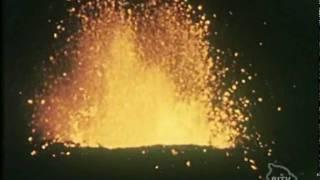 Hawaii's Kilauea Volcano Eruption on February 28, 1955