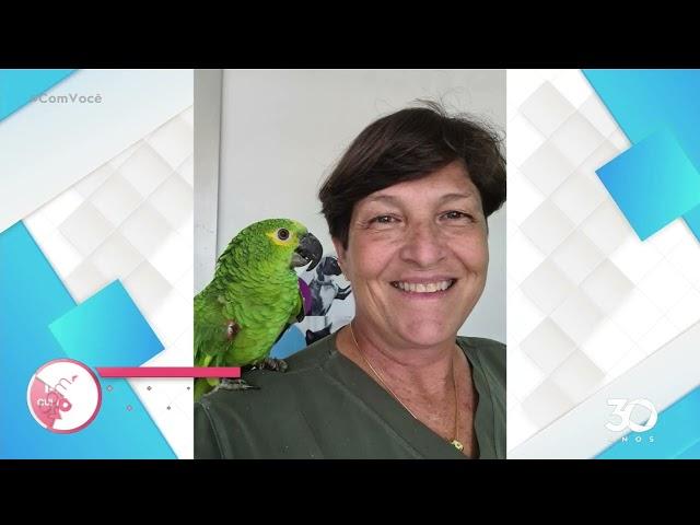 Prótese de bico: veterinária reconstrói bicos de aves silvestres- Com Você