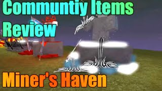 [ROBLOX: Miner's Haven Custom Ideas] - Review (Enchanted Items?)