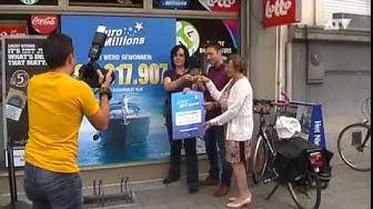 Euromillions winnaar in Antwerpen
