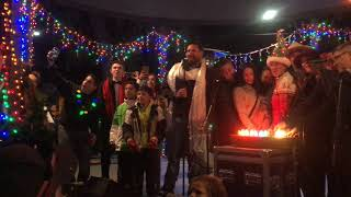 Lighting Of The Trees Ceremony 2017 Santa Fe, NM Plaza - Mayor Javier Gonzalez