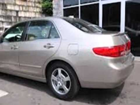 2005 honda accord hybrid ima at with navi sedan santa. Black Bedroom Furniture Sets. Home Design Ideas