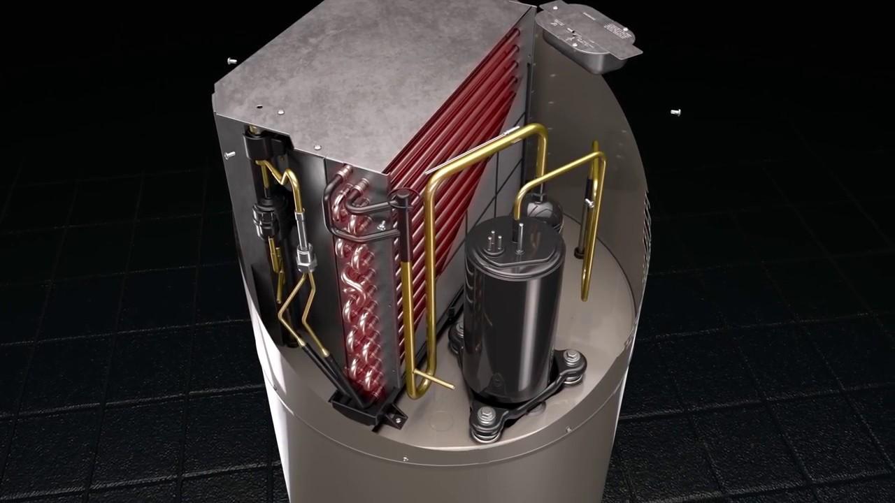 Rheem Prestige Series Hybrid Heat Pump Water Heater Youtube