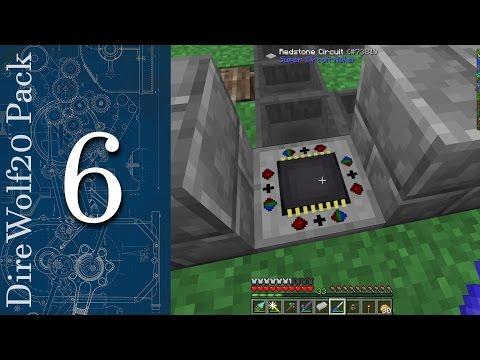[FR]Minecraft FTB Direwolf20 pack - Ferme à mob, tinker et les backpack - 6