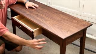Hall Table Intro - Video 1 in Series
