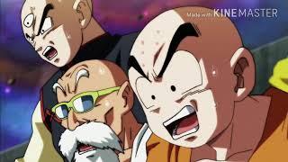 Scena finale dragon ball super, goku e freezer contro jiren, doppiaggio italiano