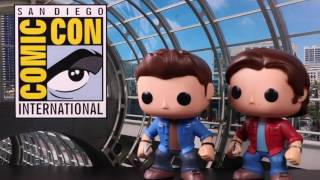SUPERNATURAL's Jared Padalecki and Jensen Ackles Bring the Funk(o) to #ConanCon #WBSDCC