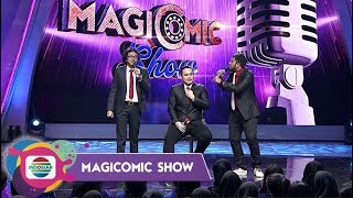 NAHLO!! Awwe dan Gilbhas Roasting Gilang Sampai Lemes - MAGICOMIC SHOW