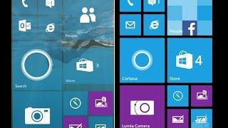 Windows 10 Mobile vs Windows Phone 8 на одном телефоне