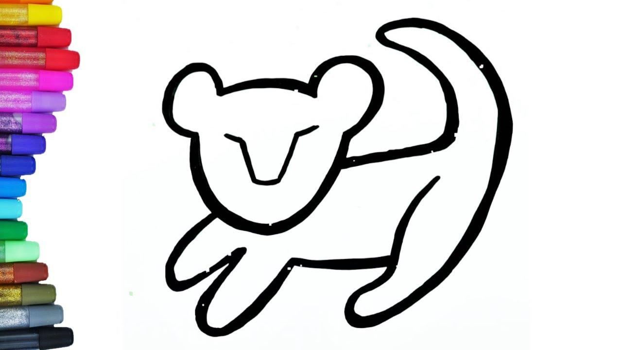 Simba König der Löwen zeichnen- Malvorlage Coloring pages