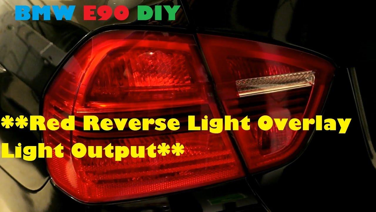 E91 BMW PRE LCI TO LCI REVERSE LIGHT MOD 2005-2009