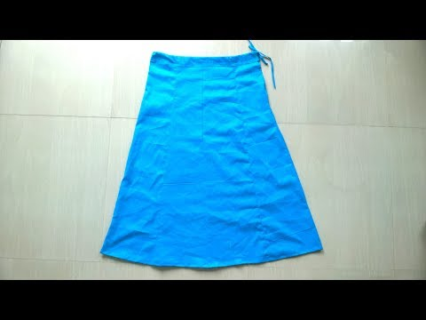 Under skirt cutting and stitching easy method   full video