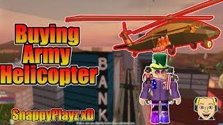 Roblox Jailbreak conseguir el ''helicóptero del ejército'' en el camino?!? (Los espectadores eligen los juegos) 🔴 EN VIVO