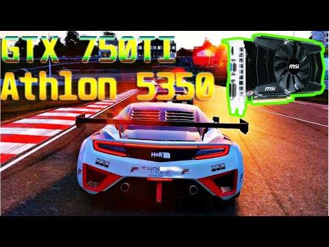 Athlon 5350 + GTX 750Ti + 8GB (Project Cars 2)