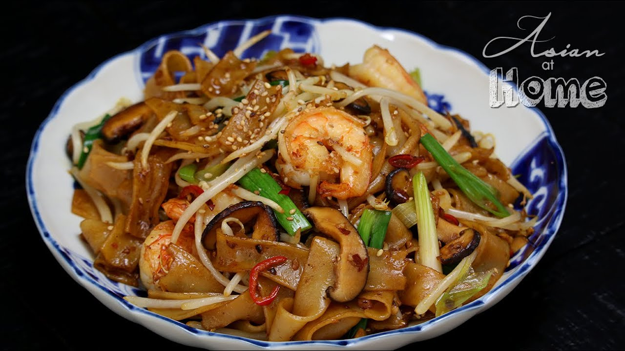 shrimp chow mei fun recipe