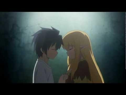 zero no tsukaima f saito kiss tiffa