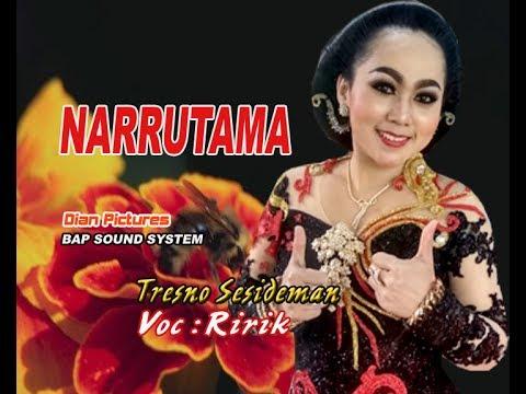 Langgam Tresno Sesideman - alias Love Bojone Uwong - CS. NARRUTAMA (PUTRA SUPRA NADA