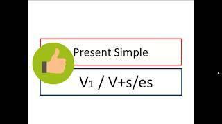 Учимся дома.  Урок 2. Present Simple (+)