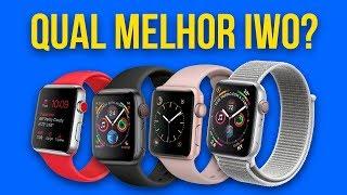 Comparativo  WO 10 Vs  WO 9 Vs  WO 8 Vs  WO 7   Qual O Melhor  WO De Todos Qual Melhor Smartwatch