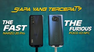 Narzo 20 Pro VS Poco X3 NFC!!! SPEED & GAMING TEST !!!