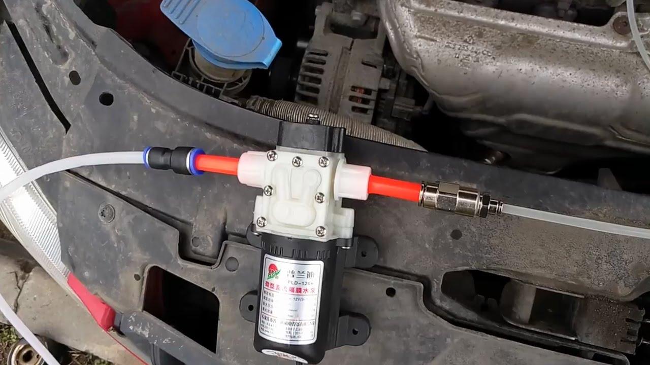 Замена масла в двигателе через щуп своими руками 49