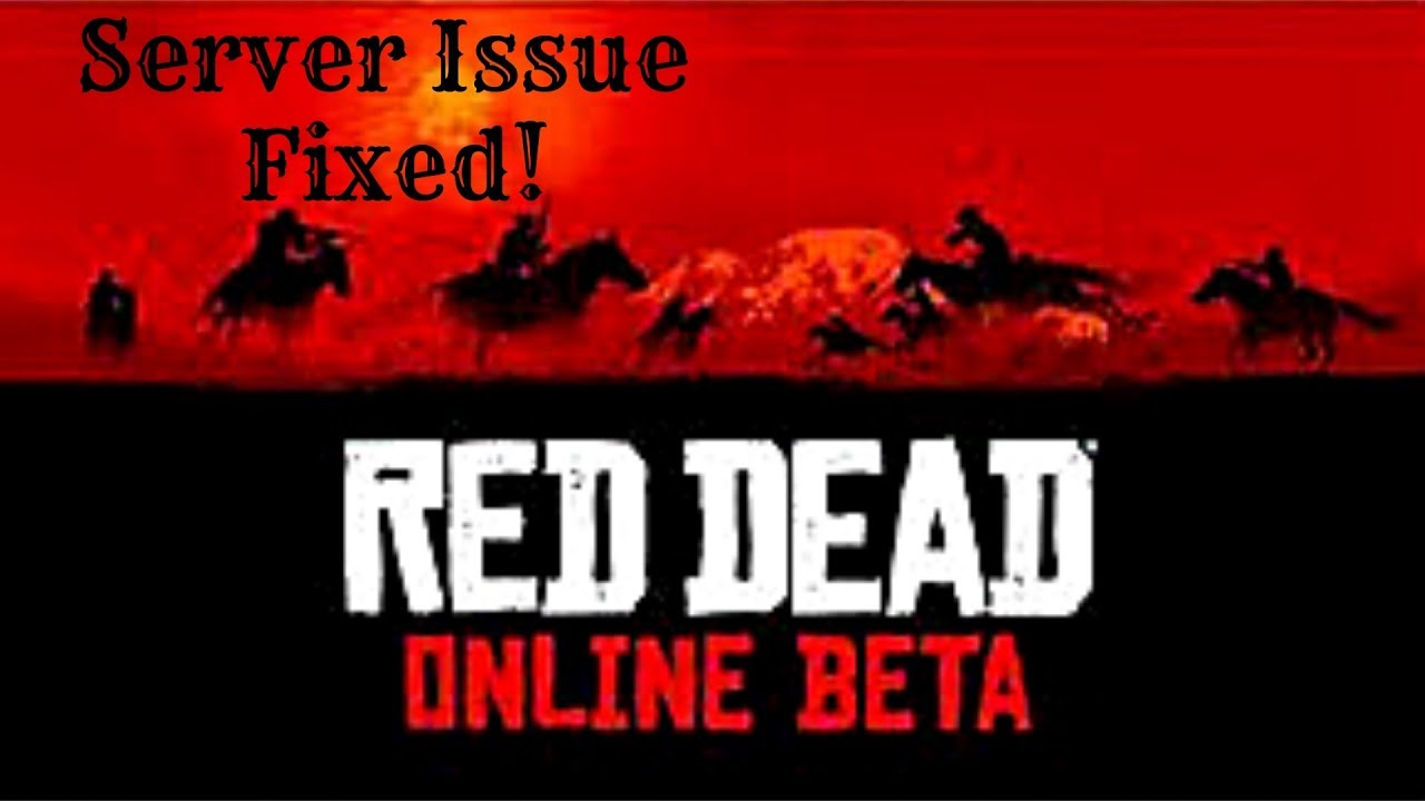 Red Dead Online Connection Issue Fix Error 0x20010006