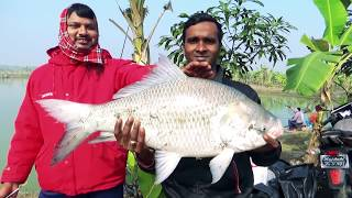 10 KG Catla Fish Hunting And Fishing By Rana