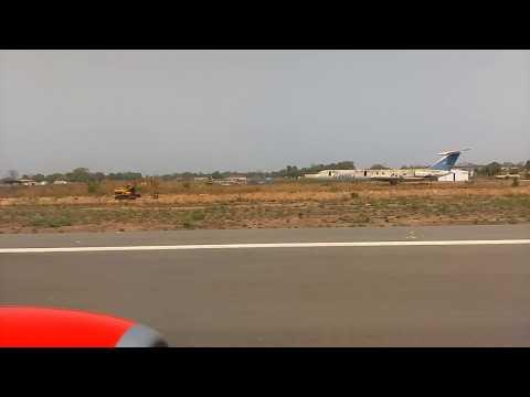 Banjul (Yundum Airfield) , The Gambia - Takeoff Corendon Boeing B737-800  HD