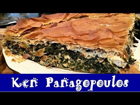 Spanakopita - Greek Spinach Pie Recipe