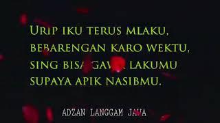 Top Hits -  Adzan Langgam Irama Jawa Adem Banget Dengernya