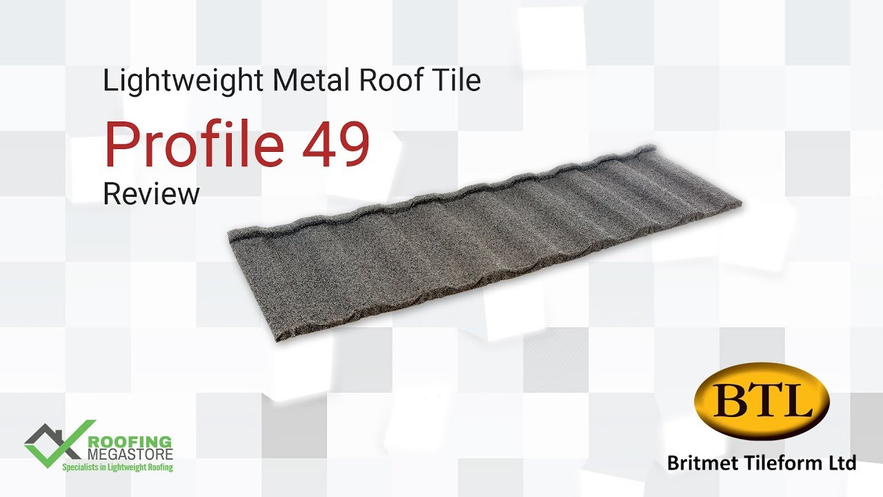 Metal Roof Tiles Profile 49 Lightweight Metal Roof Tile Review By