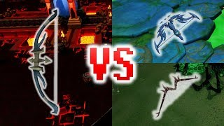 Runescape - Hexhunter Bow VS T90 and T92 bows - Full Analysis!