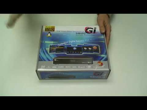 Galaxy Innovations Gi S8120 - unboxing
