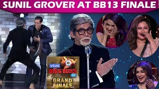 BB13 Finale PREVIEW: Sunil Grover CRACKS Up SALMAN & Audience With Big B Bala Dance & Jokes