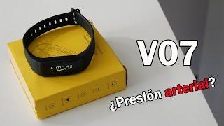 V07, la pulsera inteligente que dice medir la presión arterial ¿será cierto?