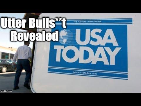 REVEALED: USA Today's Utter Bulls**t