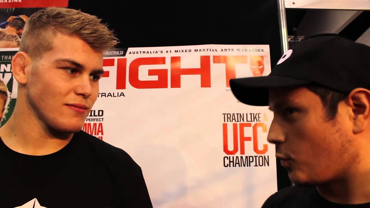 Jake Matthews Interview with the Australian UFC Fighter