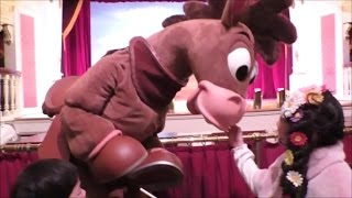 ★Toy Story´s lunch show「Easter2015」★ランチショー「ホースシュー・ラウンドアップ」に行ったよ★ thumbnail