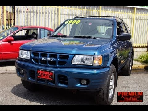 2001 Isuzu Rodeo | Read Owner and Expert Reviews, Prices, Specs