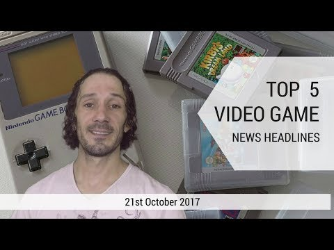 General Gaming Top 5 Video Game News Headlines (21st Sept 2017)