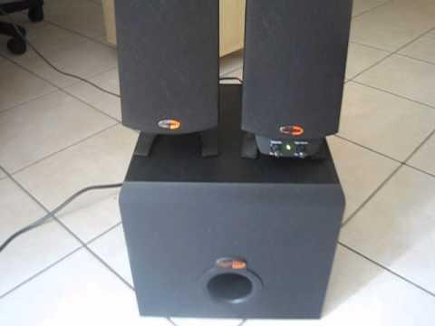 klipsch thx speakers. upgraded klipsch promedia thx 2.1 computer speaker klipsch thx speakers i